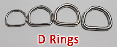 Stainless Steel D Rings