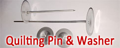 Stainless Steel Quilting Pins & Washers
